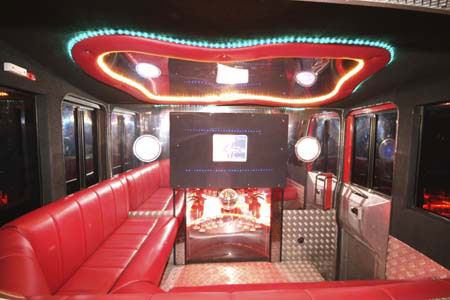 Limo Hire Fire Engine Limousine Hire