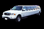 Chauffeur stretch white Lincoln Navigator limo hire in Birmingham, Coventry, Dudley, Wolverhampton, Telford, Worcester, Walsall, Stafford